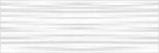 Плитка CERSANIT Santorini белый 25*75 TRU052 рельеф
