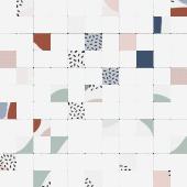 Мозаика Meissen Keramik Trendy многоцветный 30*30 A-TY2O451/D