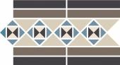 Бордюр керамический Border  Border PARIS Stand.(Tr.1/2 01, Tr.1/4 11+14+16, Strip 14+29) 28х17,3