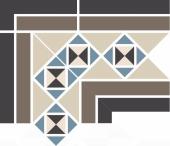 Угол керамический Corner PARIS Stand.(Tr.1/2 01, Tr.1/4 11+14+16, Strip 14+29) 19х26х17,3