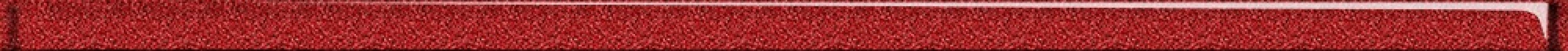Бордюр CERSANIT Universal Glass красный 2*60 UG1L413
