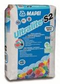 Клей Ultralite S2 15 кг (серый, белый) для крупноформатного и тонкого керамогранита