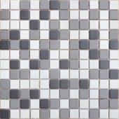 Мозаика из керамогранита неглазурованная с прокрасом в массе Equinozio 30х30х0,6 см (чип 23х23х6 мм)