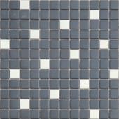 Мозаика из керамогранита неглазурованная с прокрасом в массе Galassia 30х30х0,6 см (чип 23х23х6 мм)