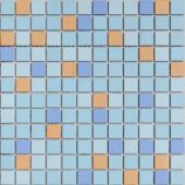 Мозаика из керамогранита неглазурованная с прокрасом в массе Giove 30х30х0,6 см (чип 23х23х6 мм)