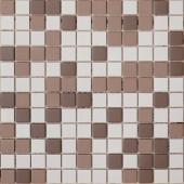 Мозаика из керамогранита неглазурованная с прокрасом в массе Marte 30х30х0,6 см (чип 23х23х6 мм)