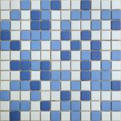 Мозаика из керамогранита неглазурованная с прокрасом в массе Nettuno 30х30х0,6 см (чип 23х23х6 мм)