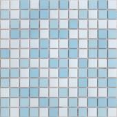 Мозаика из керамогранита неглазурованная с прокрасом в массе Uranio 30х30х0,6 см (чип 23х23х6 мм)