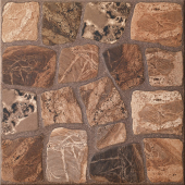 Керамогранит CERSANIT Vilio коричневый 32,6*32,6 VV4P112