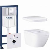 Готовый набор для туалета GROHE Euro Ceramic (NW0016-1)
