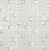 Мозаика Edna Mix №100 Белый (на сетке)