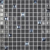 Мозаика Edna Mix №828 Черный (на сетке)