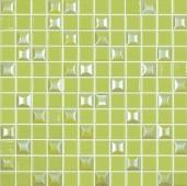 Мозаика Edna Mix №601 Зеленый (на сетке)