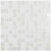 Мозаика Astra White Белый (на сетке)