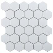 Кер. мозаика Hexagon small White Matt (MT31000/IDL1005) 278х265х6