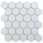 Кер. мозаика Hexagon small White Glossy (MT32000/IDL1001) 271х282х6