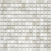 Мозаика 20X20 Grey Polished (JMST026) 305X305X4, натур. мрамор