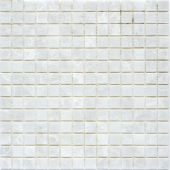 Мозаика 20X20 White Polished (JMST037) 305X305X4, натур. мрамор