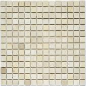 Мозаика 20X20 Crema Marfil Polished (JMST033) 305X305X4, натур. мрамор