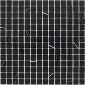Мозаика 20X20 Black Polished (JMST034) 305X305X4, натур. мрамор
