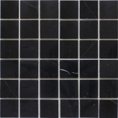 Мозаика 48X48 Black Polished (JMST056) 305X305X4, натур. мрамор