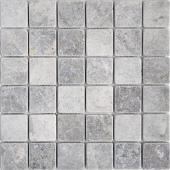 Мозаика 48X48 VLg Tumbled (300X300X8), натур. мрамор