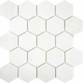 Мозаика Hexagon VMwP 64X74 (305X305X8), натур. мрамор