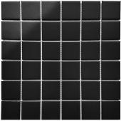 Кер. мозаика 48x48 Black Matt (WB73000) 306х306х6