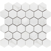 Кер. мозаика Hexagon small Carrara Matt  (PMMT83017) 271х282х6