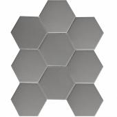 Кер. мозаика Hexagon big Grey Matt (FQ21016) 256х295.5х6