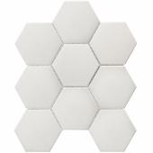 Кер. мозаика Hexagon big White Matt Antislip (JFQ51011) 256х295х6