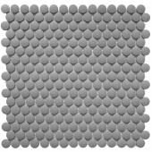 Кер. мозаика Penny Round Dark Grey Antislip (JNK82021) 315х309х6