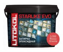 Starlike Evo S.550 Rosso Oriente 5 кг эпоксидная затирка