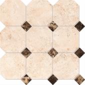 Mosaico Octagon Big EL 03, LM 01 30х30 полированная
