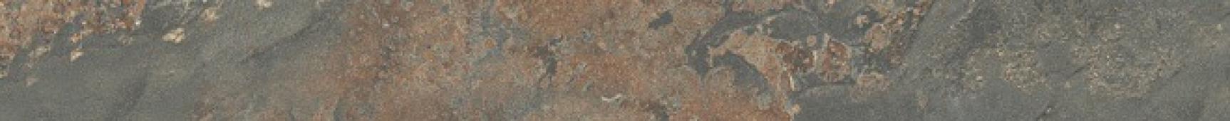 Бордюр Рамбла коричневый обрезной 25х2,5х19