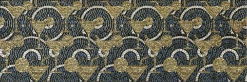 Декор Каталунья обрезной лаппатированный 30х89,5