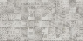 Abba Patсhwork mix серый 30*60