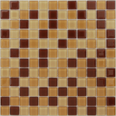 Мозаика CARAMELLE Cacao 29,8х29,8x0,4 см (чип 23x23x4 мм)