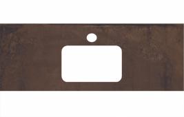 Спец. декоративное изделие для раковин, встраиваемых сверху, 120 см Про Феррум коричневый