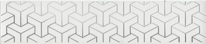 AD/A569/6397 Ломбардиа белый 25*5.4 бордюр