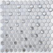 Мозаика LeeDo Argento grani hexagon 30х30x0,6 см (чип 23x13x6 мм)
