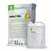Aquastop Flex Eco KERAKOLL (A+B) 32кг гидроизоляция (вместо IDROBUILD ECO)