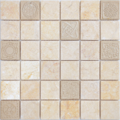 Мозаика LeeDo Art Botticino матовая 30х30х0,8 см (чип 48х48х8 мм)