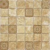 Мозаика LeeDo Art Emperador Light матовая 30х30х0,8 см (чип 48х48х8 мм)