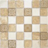 Мозаика LeeDo Art Pietra Mix 1  матовая 30х30х0,8 см (чип 48х48х8 мм)