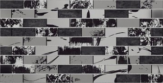 Декор настенный AltaCera Antre Glent Black 24,9x50