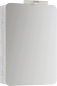 Аликанте шкаф-зеркало со светильником, цвет дуб седой, Alic.04.05/Gray, 50*17*70