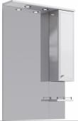 Барселона панель с зеркалом, шкафчиком и подсветкой Ba.02.07, 70*108*17,5