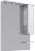 Барселона панель с зеркалом, шкафчиком и подсветкой Ba.02.08, 80*108*17,5
