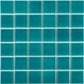 Кер. мозаика 48x48 Crackle Green Glossy (LWWB80081) 306х306х6